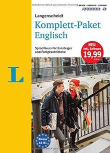 Langenscheidt Komplett-Paket Englisch - Sprachkurs mit 2 Büchern, 6 Audio-CDs, 1 DVD-ROM, MP3-Download: Sprachkurs für Einsteiger und Fortgeschrittene (Langenscheidt Komplett-Paket ((NEU)))
