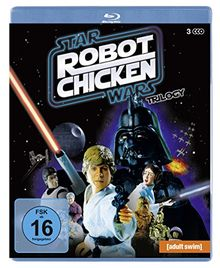 Robot Chicken Star Wars Trilogy (Episodes I and II and III) [3 Blu-rays]
