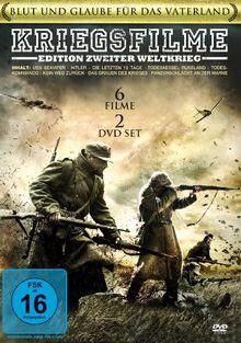 Kriegsfilme Edition - Zweiter Weltkrieg [6 DVDs]