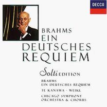 Solti-Edition Vol. 8: Ein deutsches Requiem