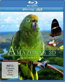 Faszination Amazonas 3D - Südamerika (inkl. 2D Version) [3D Blu-ray]