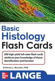 Lange Basic Histology Flash Cards (Lange Flashcards)