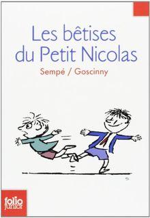 Les bêtises du petit Nicolas (Folio Junior)