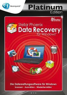 Stellar Phoenix Data Recovery für Windows - Avanquest Platinum Edition