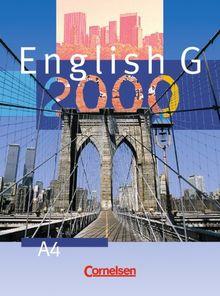 English G 2000, Ausgabe A, Bd.4, Schülerbuch, 8. Schuljahr: Für das 8. Schuljahr an Gymnasien