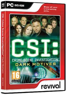 CSI: Crime Scene Investigation Dark Motives [UK Import]