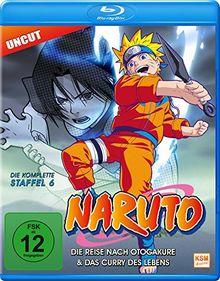 Naruto - Staffel 6: Die Reise nach Otogakure & Das Curry des Lebens - Uncut [Blu-ray]