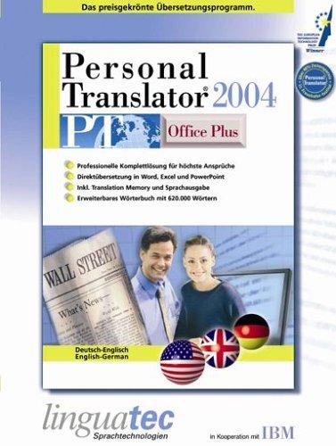 Personal translator pt 2004 office plus deutsch englisch for Translator englisch deutsch