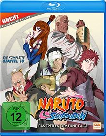 Naruto Shippuden - Das Treffen der fünf Kage (Staffel 10: Folge 417-442 - UNCUT) [Blu-ray]