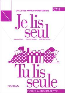 JE LIS SEUL CM1. Fichier autocorrectif
