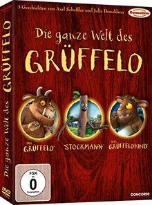 Die ganze Welt des Grüffelo [3 DVDs]