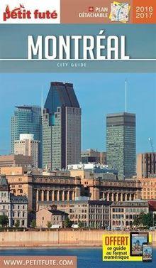 Petit Futé Montréal : Avec un plan détachable