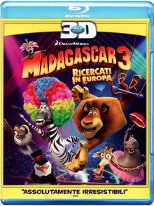 Madagascar 3 - Ricercati in Europa (3D) [Blu-ray] [IT Import]