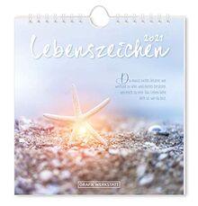 Lebenszeichen 2021: Postkartenkalender