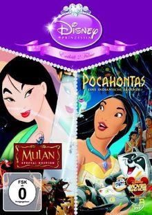 Mulan / Pocahontas [3 DVDs]