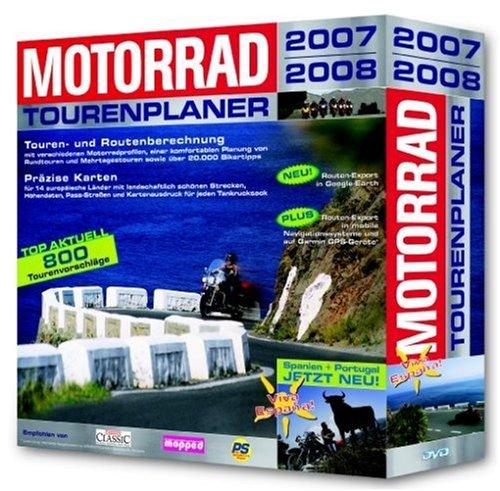 motorrad tourenplaner 2007 2008 in eurobox dvd rom von. Black Bedroom Furniture Sets. Home Design Ideas
