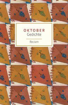 Oktober: Gedichte