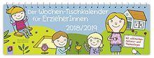 Der Wochen-Tischkalender für ErzieherInnen – 2018/2019
