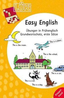 LÜK: Easy EnglishDoppelband: Übungen in Frühenglisch, Grundwortschatz, erste Sätze: Übungen für den Unterricht in Frühenglisch. Grundwortschatz, erste Sätze