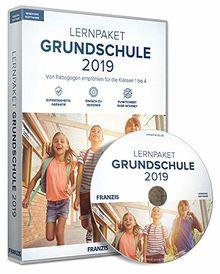 FRANZIS Lernpaket Grundschule 2019 2019 Für die Klassen 1 bis 4 Ohne Abo E-Learning Windows Software für Kinder Disc Disc