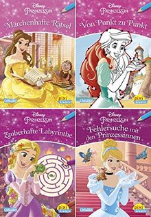 4er-Set 30: Disney: Prinzessin (4x1 Exemplar) (Pixi kreativ 4er-Set, Band 30)