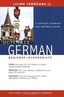 Ultimate German Beginner-Intermediate (Coursebook) (Ultimate Beginner-Intermediate)