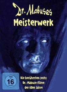 Dr. Mabuses Meisterwerk - Die berühmten sechs Dr.-Mabuse-Filme der 60er Jahre (6 DVDs)