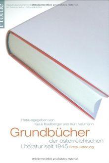 Profile 14, Grundbücher der österreichischen Literatur
