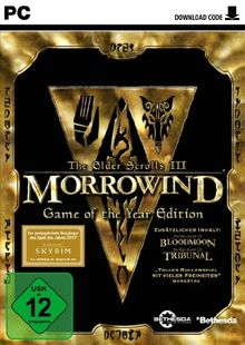 The Elder Scrolls III: Morrowind - Game Of The Year Edition [Download-Code]