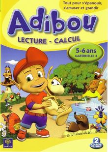 Adibou : Lecture - Calcul, 5-6 ans / Maternelle 3