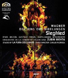 Richard Wagner: Siegfried (staged by La Fura dels Baus) - Zubin Mehta [Blu-ray]