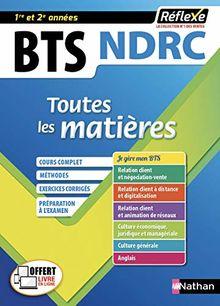 BTS NDRC 1re et 2e années : Toutes les matières