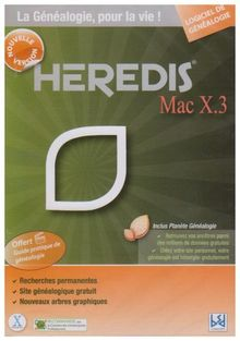 Heredis mac X.3 - nouvelle version [Import]