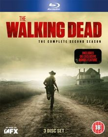The Walking Dead - The Complete Second Season [Blu-Ray] [UK Import] [3 DVDs]