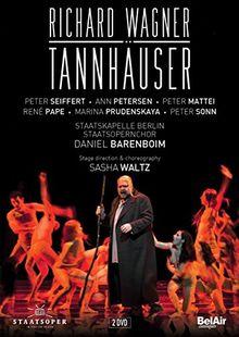 Wagner: Tannhäuser (René Pape, Peter Seiffert, Ann Petersen/Staatskapelle Berlin / Daniel Barenboim) [2 DVDs]