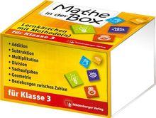Mathe in der Box: Lernkärtchen mit Methode(n) Klasse 3