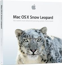 Apple Mac OS X 10.6.3 Snow Leopard Upgrade