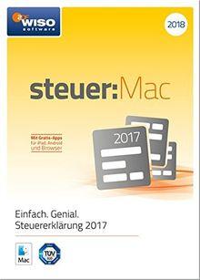 WISO steuer : Mac 2018 (für Steuerjahr 2017) | Disc