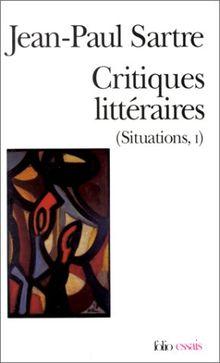 Critiques littéraires (Situations, 1) (Folio Essais)