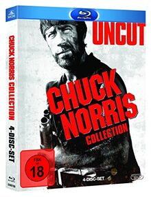 Chuck Norris Blu-ray Box (inkl. McQuade, Cusack, Delta Force 1, Missing in Action 1) (4 Blu-rays)