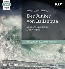 Der Junker von Ballantrae: Ungekürzte Lesung mit Gert Westphal (1 mp3-CD)