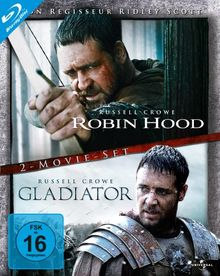 Robin Hood / Gladiator (Director's Cut / Extended Edition, 2 Discs) [Blu-ray]