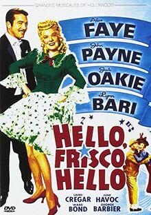 Hello, Frisco, Hello (Import) (Dvd) (2014) Alice Faye, John Payne, Jack Oakie,