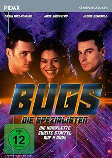 Bugs - Die Spezialisten, Staffel 2 / Weitere 10 Folgen der britischen Kultserie (Pidax Serien-Klassiker) [4 DVDs]