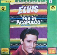 Fun in Acapulco Lp [Vinyl LP]