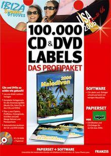 100.000 CD & DVD-Labels - Das Profipaket