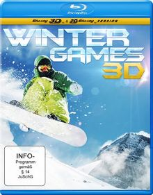 Winter Games 3D (inkl. 2D Version) [Real 3D Blu-ray]