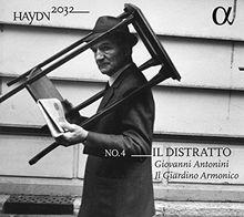 Haydn: Haydn 2032 Vol. 4 - Il Distratto - Sinfonien, Nr. 60, 70, 12 - Intermezzo 'Il Maestro di Cappella' (Limited Edition)