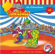 Benjamin Blümchen 45: als Zirkusclown