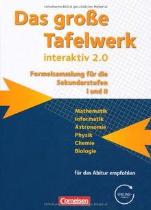 Das große Tafelwerk interaktiv 2.0 - Allgemeine Ausgabe (außer Niedersachsen und Bayern): Schülerbuch